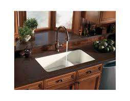 Top Mount Kitchen Sinks Faucet Com K 6625 0 In White By Kohler