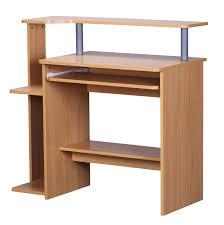 Schreibtisch 90 Cm Breit Schreibtisch A136 Computertisch Bürotisch 90x94x48cm Buche