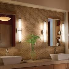 Led Lights Lowes Bathroom 3 Lights Bathroom Lights Lowes With White Shade For Home
