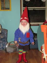 halloween costumes a gnome is a great kid costume idea
