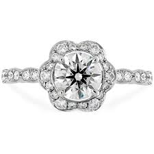 floral engagement rings lorelei floral engagement ring