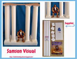 bible fun for kids samson part 2