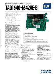 tad1642ve b volvo penta pdf catalogue technical