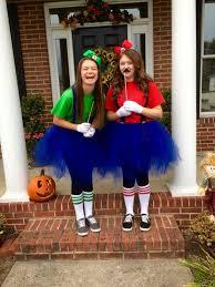 mario and luigi halloween costume teen girls cool diys