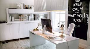 Office Decoration Alluring 60 White Office Decor Design Decoration Of Best 25