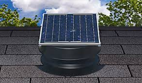 roof vent solar attic fan