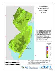 Map Of New Jersey Shore Windexchange Wind Energy In New Jersey