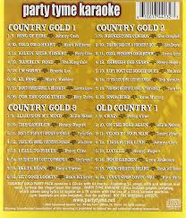party tyme karaoke party tyme karaoke country gold party pack