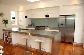Latest Kitchen Designs 2013 14 Modern Gloss White Kitchen Minimalist Style Western Springs
