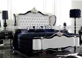 Rococo Bed Frame Spain Italian Style Luxury Furniture Royal King Size