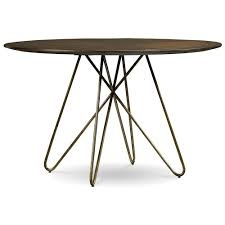 Hairpin Leg Dining Table A R T Furniture Inc Epicenters Silver Lake Round Dining Table