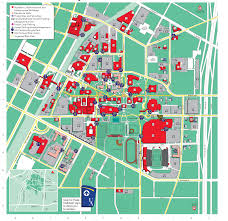Colby College Campus Map Maps The University Of Akron