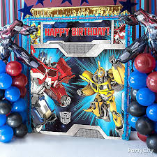transformers birthday decorations transformers photo booth diy decorating ideas transformers