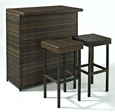 Bali Wicker Outdoor Furniture by Patio Ideas Patio Bar Table Set Bali Style Shorea Wood Bar And