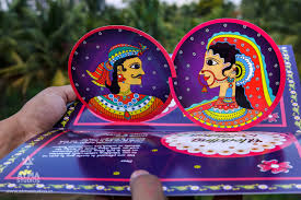 Indian Marriage Invitation Card This Unique South Indian Wedding Invitation Is Based On The 16