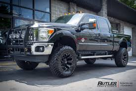 hoonigan truck ford f250 with 20in fuel assault wheels butlertire ford f250
