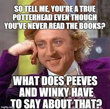 Tell Me More Meme Generator - creepy condescending wonka meme so tell me you re a true