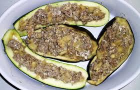 recette de cuisine regime aubergines et courgettes farcies au micro ondes recette dukan pl