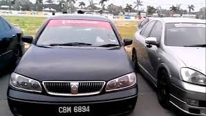 nissan sentra 2004 modified tts nissan sentra n16 di tesco kota bharu 2015 youtube