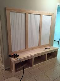 Wooden Storage Bench Plans by Best 25 Mudroom Storage Bench Ideas On Pinterest Entryway Bench