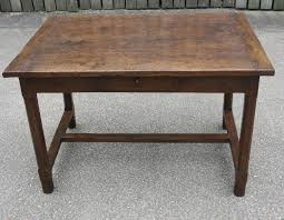 Th C  Oak Dining Table Small Kitchen Table Antique Table - Antique oak kitchen table