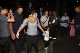 aamir khan kiran rao return from swiss holiday