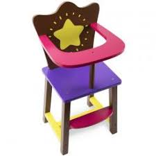 Wooden Doll High Chair Wooden Doll Furniture The Wooden Toy Store