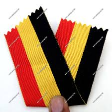 black and yellow ribbon ribbon black with yellow