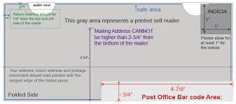 mailing design guidelines