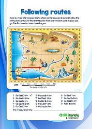 geography map map skills worksheets