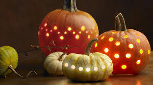 light halloween background lights pumpkin halloween wallpapers and images wallpapers