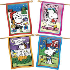 snoopy flag collection willabee ward