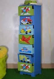 chambre garcon avion etagere colonne tiroirs garcon bleu avion chambre enfant meuble