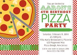 pizza party invitation plumegiant com