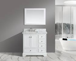 Marble Top Bathroom Cabinet Jocelyn 36