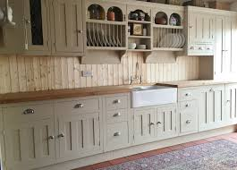 Recycled Kitchen Cabinets For Sale Custom Made Reclaimed Pine Painted Kitchen In Farrow U0026 Ball