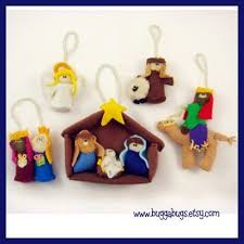 nativity ornaments pdf pattern baby jesus joseph