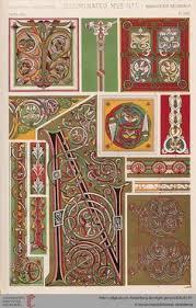 средневековое искусство и готический орнамент средневековое