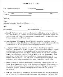 free printable rental agreement free lease u0026amp rental agreement