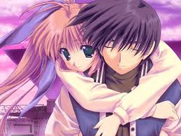 wallpaper anime lovers cute anime couple wallpapers wallpaper cave
