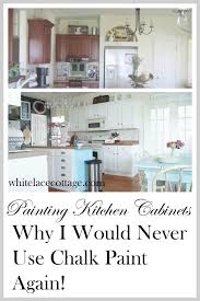 Perfect Painting Kitchen Cabinets Chalk Paint Chalk Painted - Painting kitchen cabinets chalkboard paint