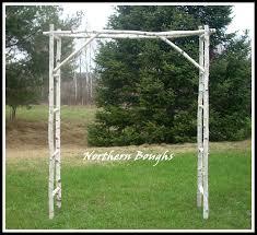 wedding arch kit winter special birch wedding arch arbor kit large birch