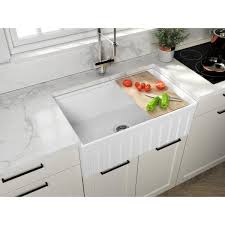 home depot kitchen sink vanity empire industries farmhouse fireclay 30 in single