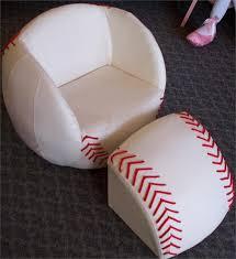 baseball chair and ottoman set baseball chair and ottoman purple pumpkin gifts