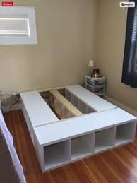 Platform Bed With Storage Plans by Creative Ideas How To Build A Platform Bed With Storage