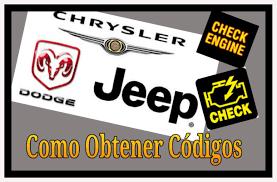 dodge jeep logo codigos de falla sin escaner chrysler dodge jeep youtube