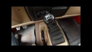 jeep wrangler tj shift knob removal youtube