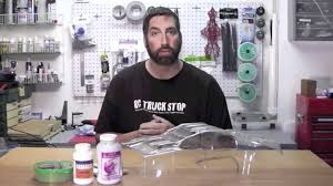 how to paint an rc body youtube