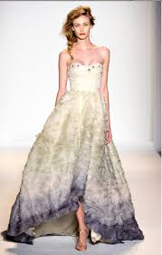 color wedding dresses add color to your wedding gown calluna events