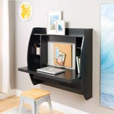 Computer Wall Desk Prepac Wall Mounted Floating Desk With Storage In